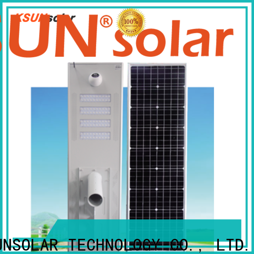 KSUNSOLAR New solar street light made in china Suppliers for Power generation