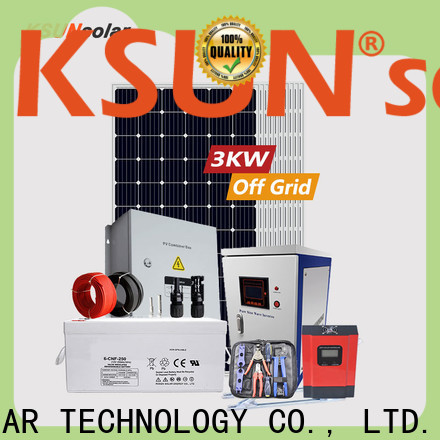 KSUNSOLAR Best best off grid solar system for powered by