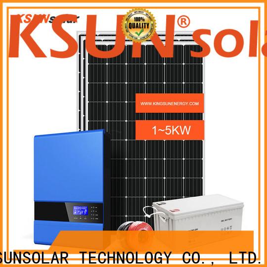 KSUNSOLAR best off grid solar system Supply for Energy saving