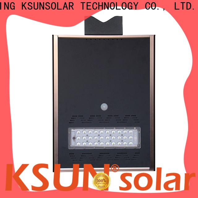 KSUNSOLAR Top solar street lighting Supply For photovoltaic power generation