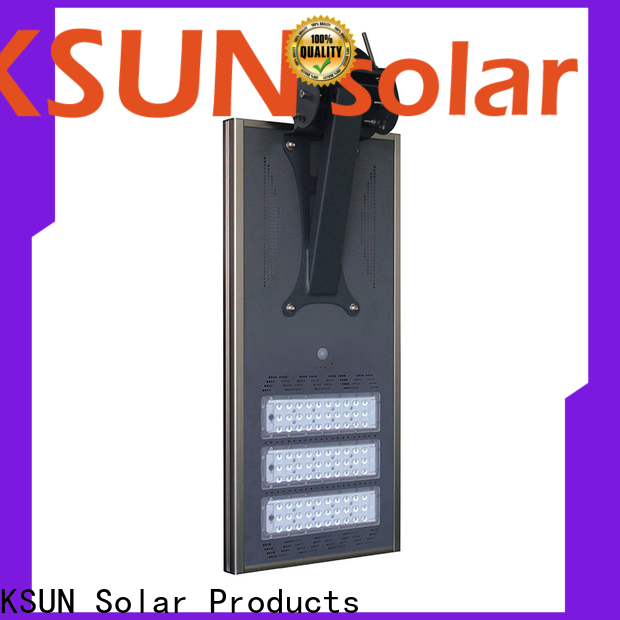 KSUNSOLAR solar powered street lamp company for Energy saving