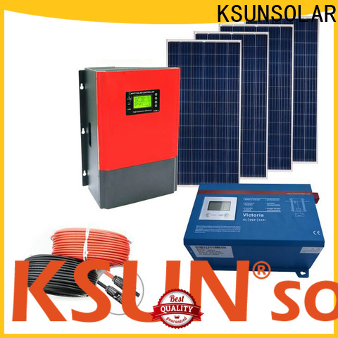 Latest grid tied solar system Supply for Environmental protection