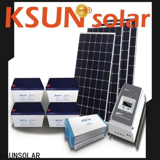 KSUNSOLAR best off grid solar panels factory for powered by