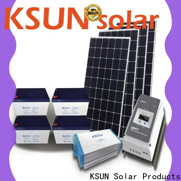 KSUNSOLAR solar hybrid solutions factory For photovoltaic power generation