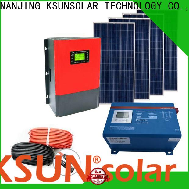 KSUNSOLAR Top off grid panels for Energy saving
