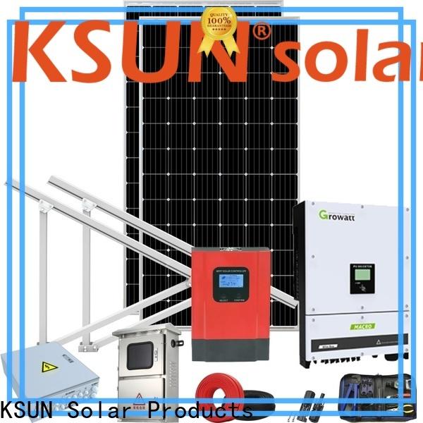 KSUNSOLAR solar power system for Environmental protection