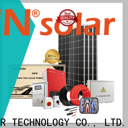 KSUNSOLAR solar power systems for sale Suppliers for Power generation