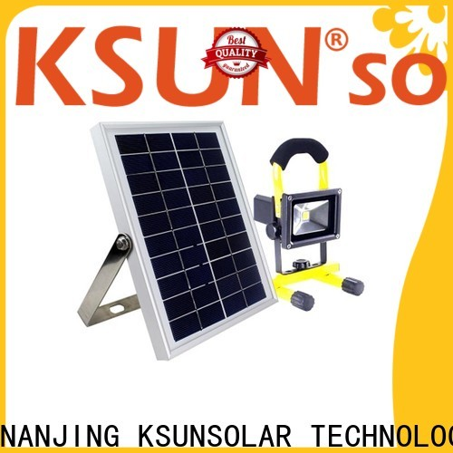 KSUNSOLAR High-quality solar and led lighting for business for Power generation