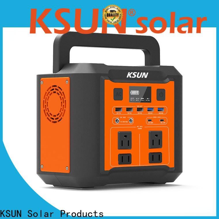KSUNSOLAR portable power source Supply for Power generation