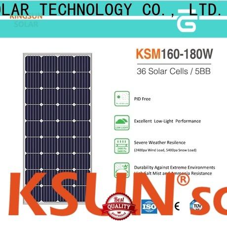 KSUNSOLAR monocrystalline panels price Supply for Energy saving