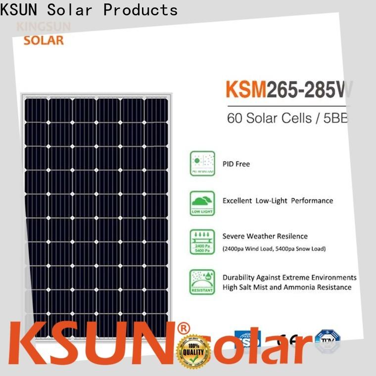 Custom monocrystalline panels price for business for Energy saving