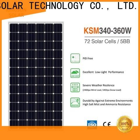 KSUNSOLAR Best mono panel for business for Power generation