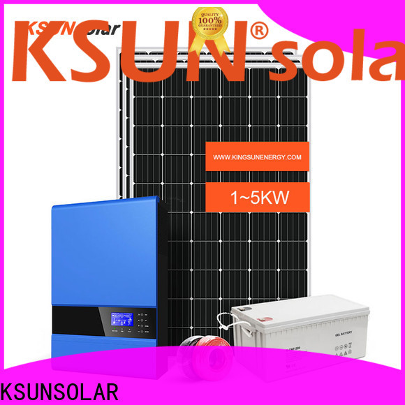 KSUNSOLAR solar panels for off grid home for business for powered by