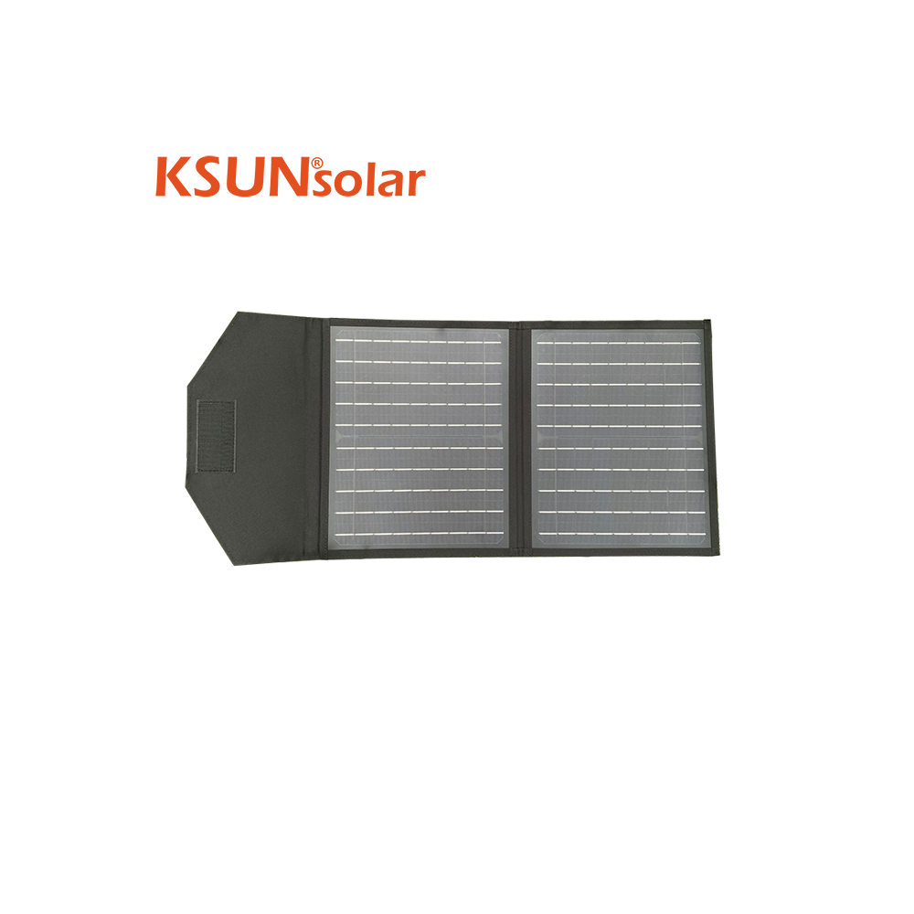40W Folding Solar Panel / Portable Solar Charger