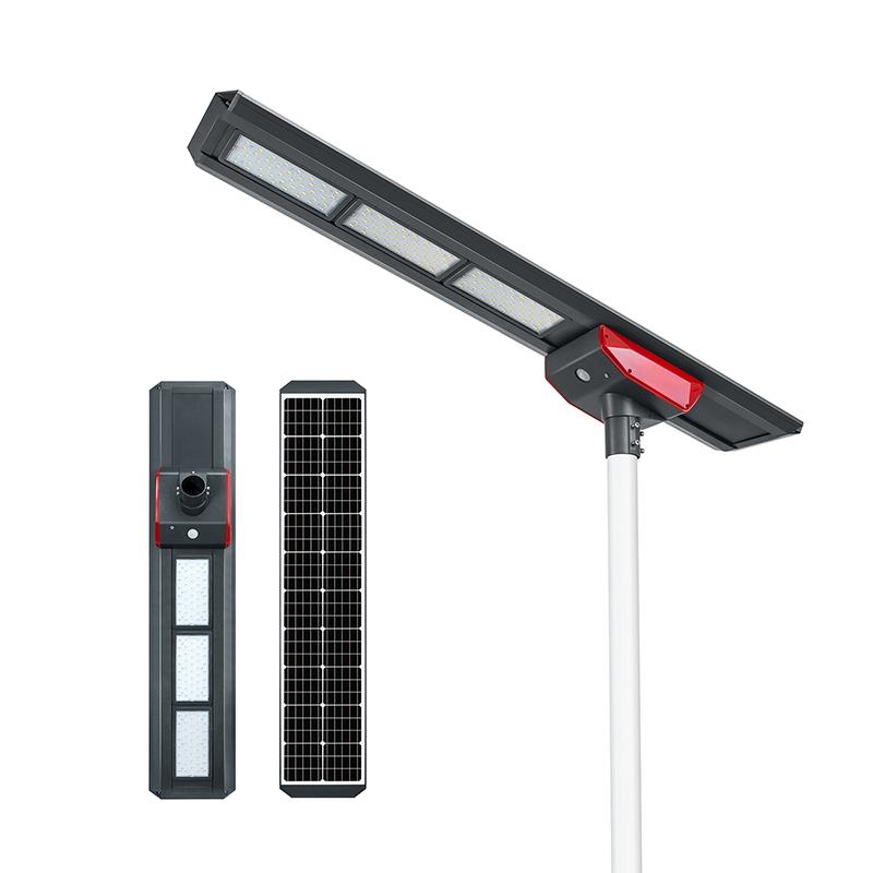 120W Integrated Solar Street Light