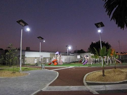 solar powered garden light